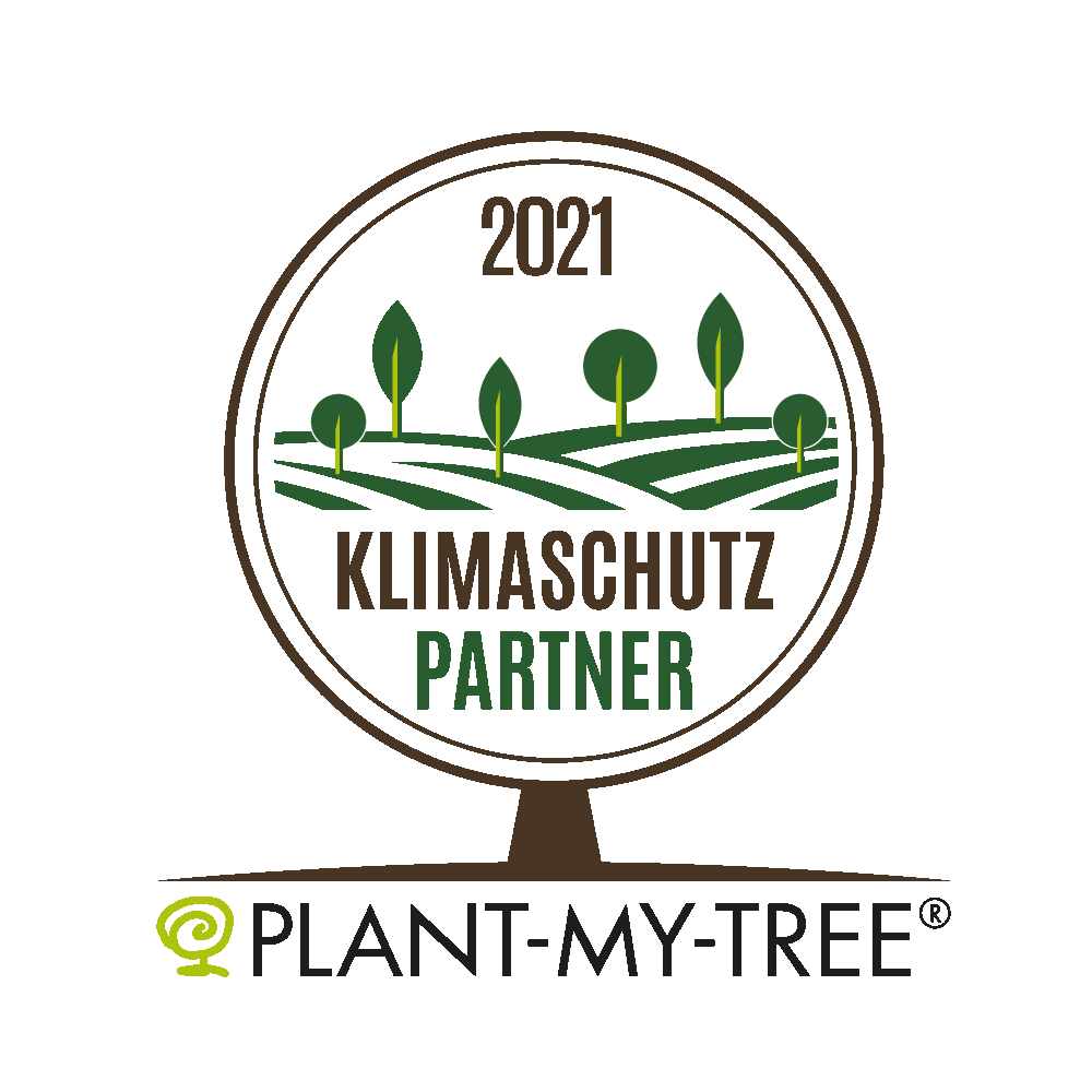 Climate protection partner 2021 of PLANT-MY-TREE®